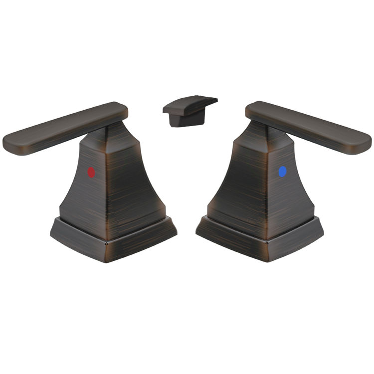 Delta H264RB Delta H264RB Venetian Bronze Ashlyn Two Lever Handle Kit
