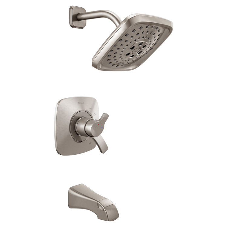 Delta T17452-SS Delta T17452-SS Stainless 17 Series Tub/Shower Trim