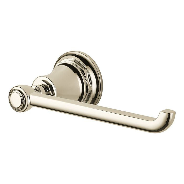 View 2 of Brizo 695061-PN Brizo 695061-PN Polished Nickel Rook Toilet Paper Holder