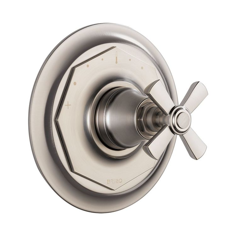 Brizo T66T061-NK Brizo T66T061-NK Luxe Nickel Rook Thermostatic Valve Only Trim