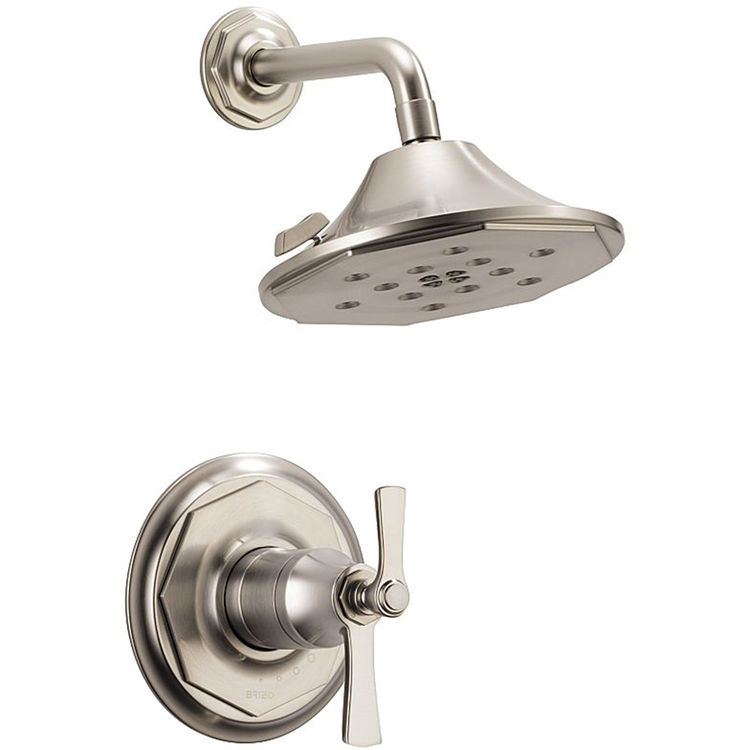 View 3 of Brizo T60261-NK Brizo T60261-NK Luxe Nickel Rook Thermostatic Shower Only Trim