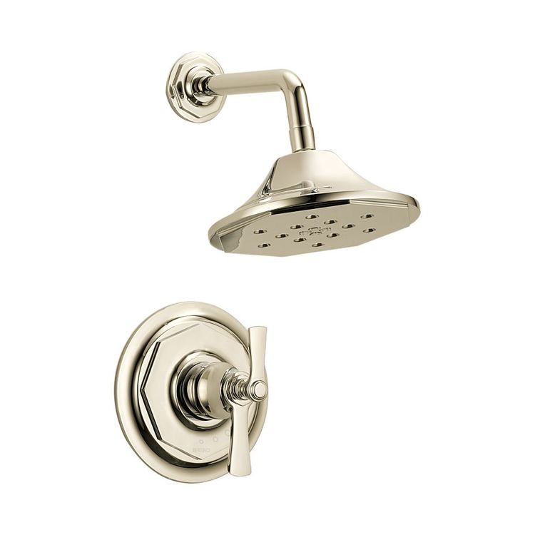 View 2 of Brizo T60261-PN Brizo T60261-PN Polished Nickel Rook Thermostatic Shower Only Trim