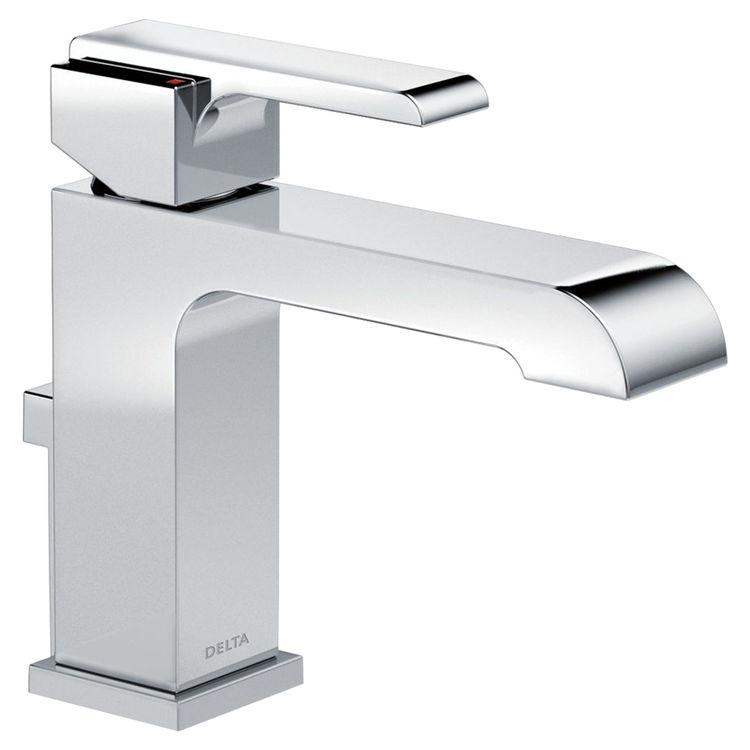 Delta 567LF-HGM-MPU Delta 567LF-HGM-MPU Chrome Single Handle Lavatory Faucet