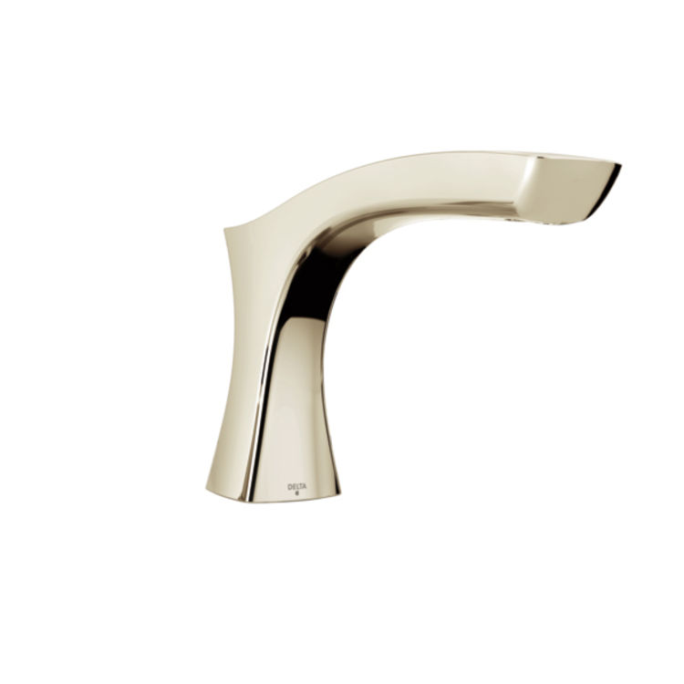 View 2 of Delta RP78517PN Delta RP78517PN Pull-Up Diverter Roman Tub Spout Assembly, Polished Nickel