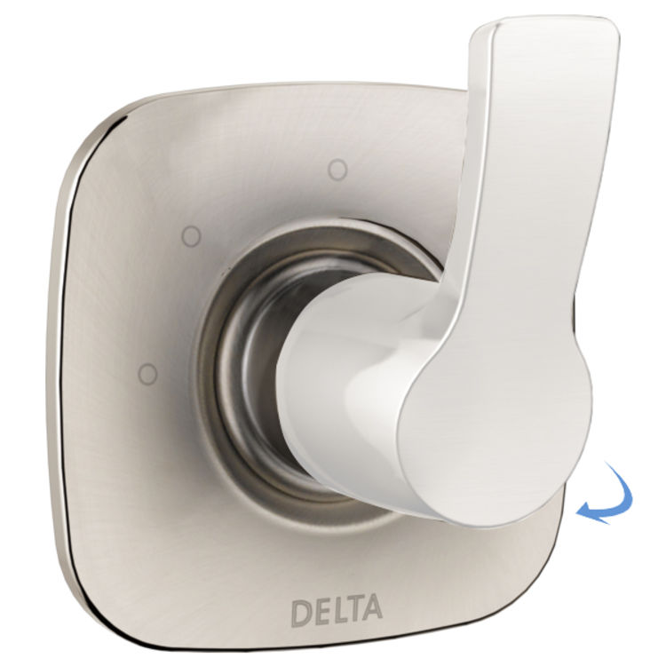 Delta RP78705SS Delta RP78705SS Tesla Escutcheon for 3-Setting Diverter, Stainless Steel