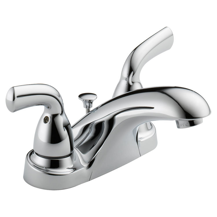 Delta B2510LF-PPU Delta B2510LF-PPU Foundations Two-Handle Centerset Lavatory Faucet, Chrome