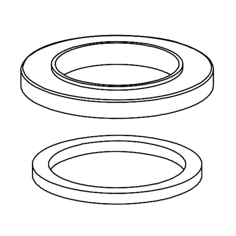 View 2 of Delta RP78366SS Delta RP78366SS Spout Flange and Gasket, Stainless