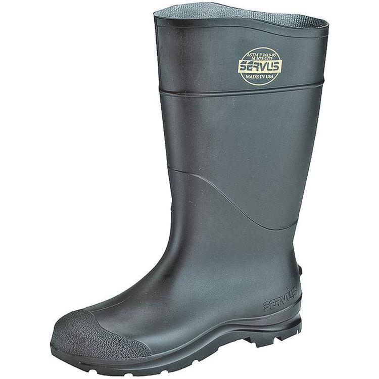 Servus 18822-11 Servus 18822-11 Non-Insulated Knee Boot, NO 11, Men's, Black, PVC
