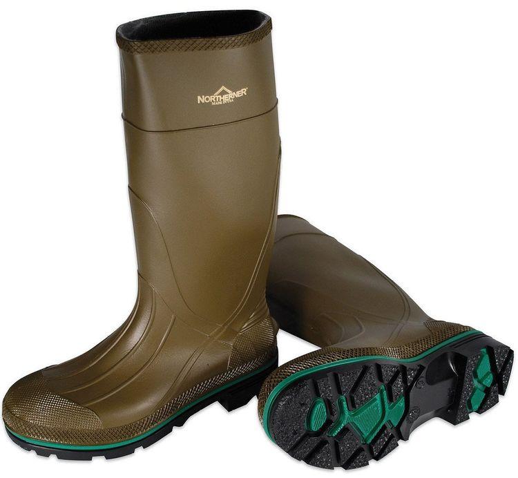 View 2 of Servus 75120-10 Servus Northerner 75120-10 Non-Insulated Knee Boot, NO 10, Men's, Olive Green, PVC