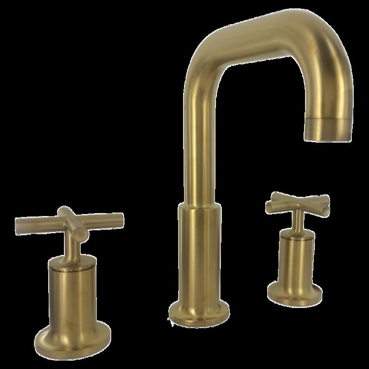 View 2 of Kohler T14428-3-BGD Kohler K-T14428-BGD Brushed Gold Purist Deck-Mount Bath Faucet