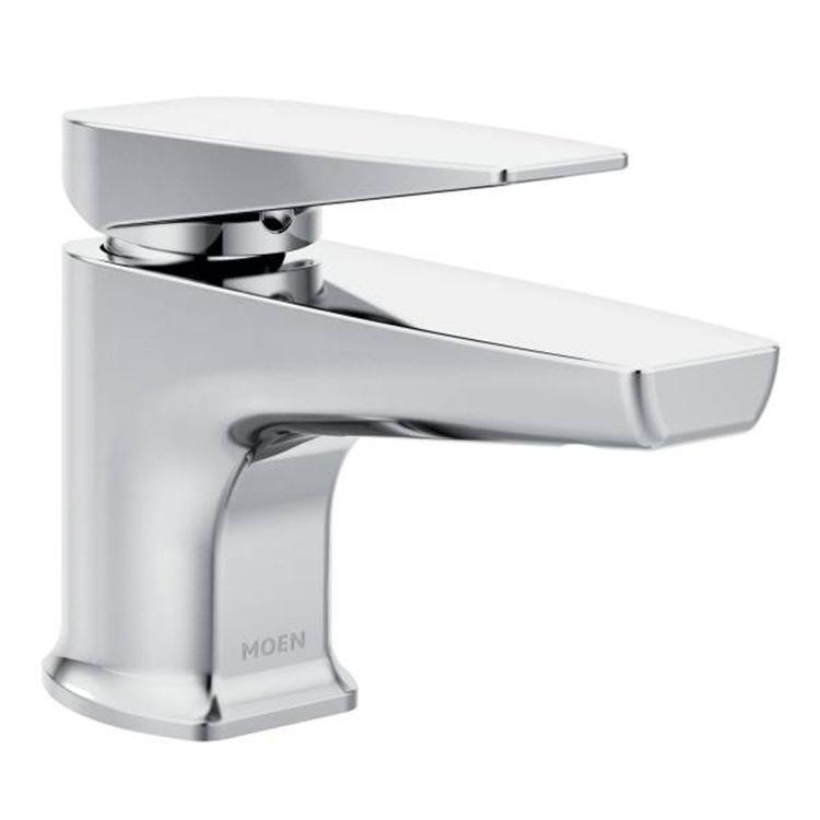 View 2 of Moen S8001 Moen S8001 Via One Handle Lavatory Faucet, Chrome