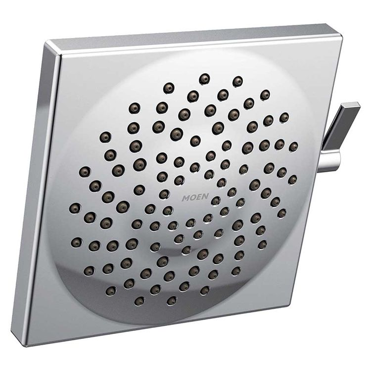 Moen S6345 Moen S6345 Velocity Two-Function Rainshower Showerhead, Chrome