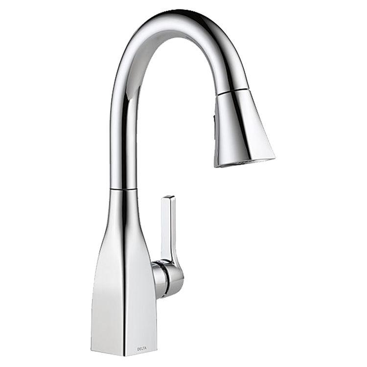 Delta 9983-DST Delta 9983-DST Chrome Mateo One-Handle Kitchen Faucet