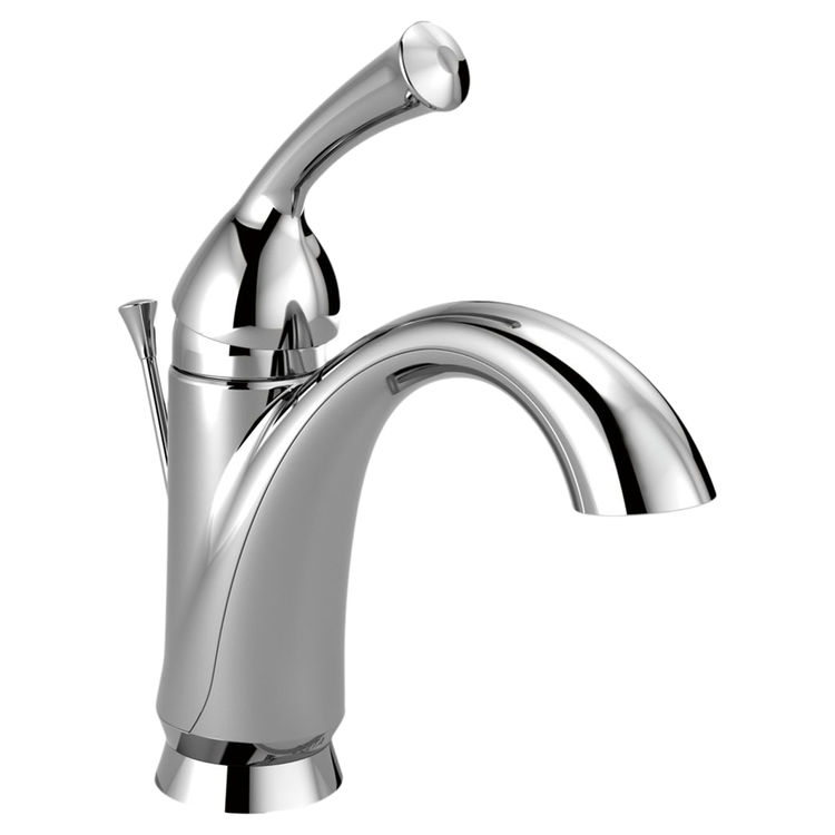 View 2 of Delta 15999-DST Delta 15999-DST Haywood Chrome One Handle Bathroom Faucet