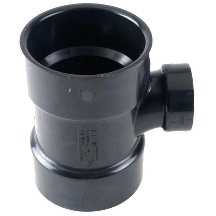 Commodity  3 x 3 x 1-1/2 Inch ABS Sanitary Tee, ABS Construction