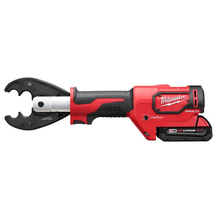 View 3 of Milwaukee 2678-22O Milwaukee 2678-22O M18 Force Logic 6T Utility Crimping Kit with D3 Grooves and Fixed O Die