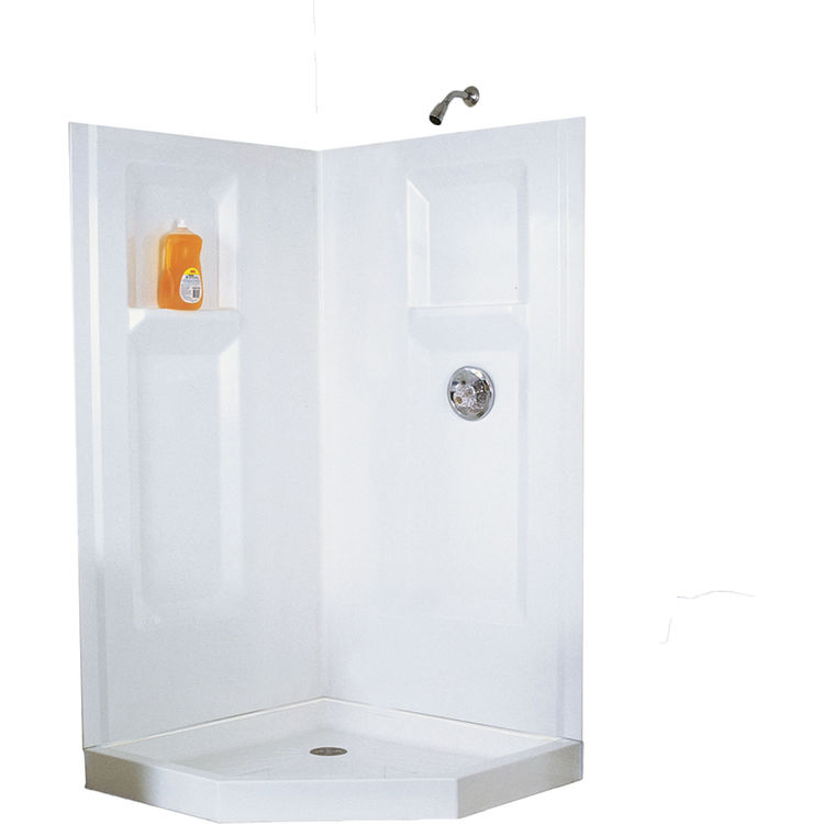 Mustee 742C 42x42 Neo Angle Shower Walls