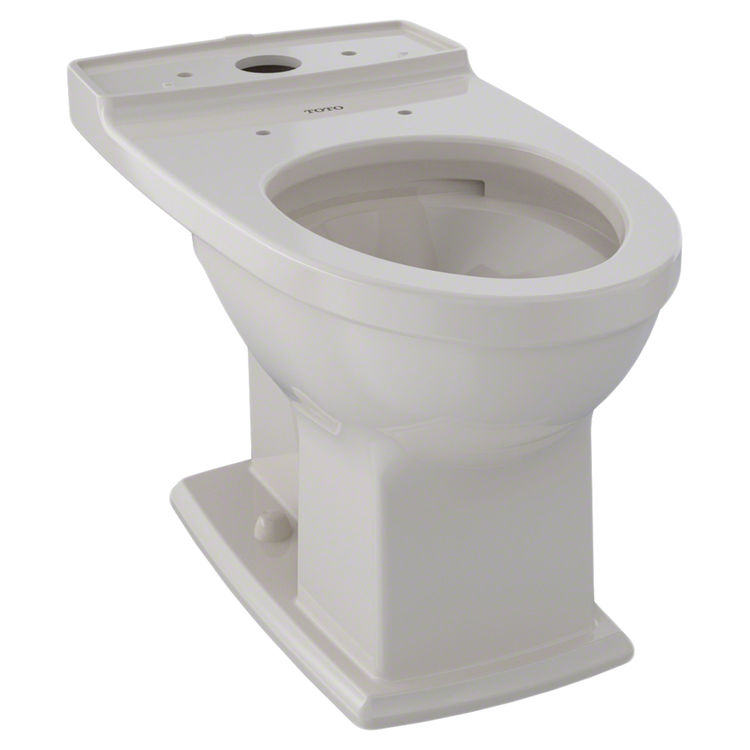 View 2 of Toto CT494CEFG#12 TOTO Connelly Universal Height Elongated Toilet Bowl with CeFiONtect, Sedona Beige - CT494CEFG#12