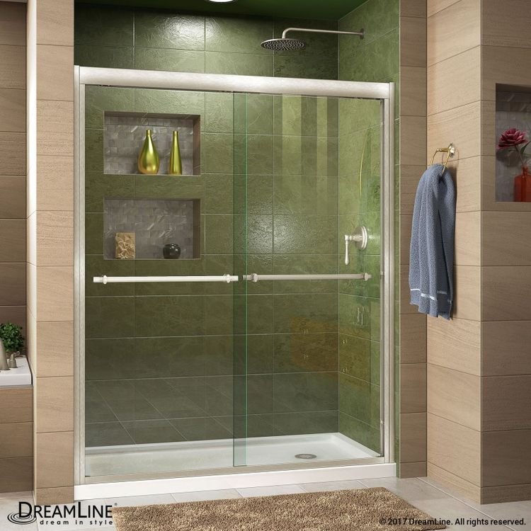 Dreamline Duet Frameless Bypass Sliding Shower Door And