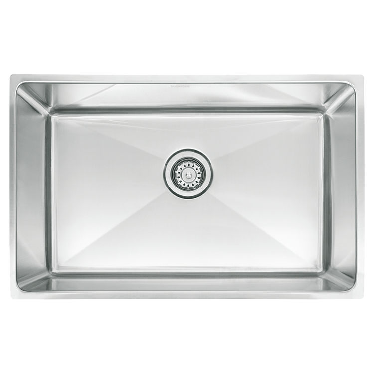 Franke PSX1102710 Franke PSX1102710 Single Bowl Undermount Stainless Undermount Sink - Stainless