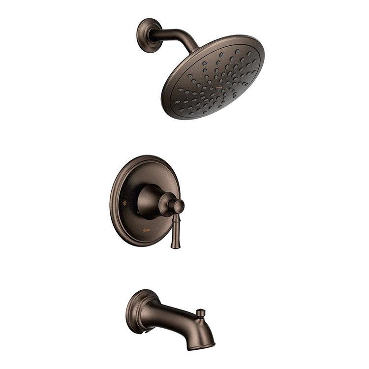 Moen T2183ORB Oil-Rubbed Bronze Dartmoor Posi-Temp Tub/Shower Trim Kit
