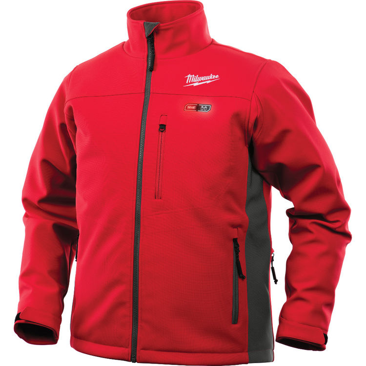 View 2 of Milwaukee 201R-20L Milwaukee 201R-20L M12 Red Heated Jacket - Large