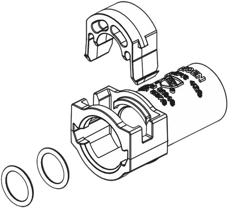 Moen 148606 Moen 148606 Part Posi-Temp CPVC Adapter Service Kit
