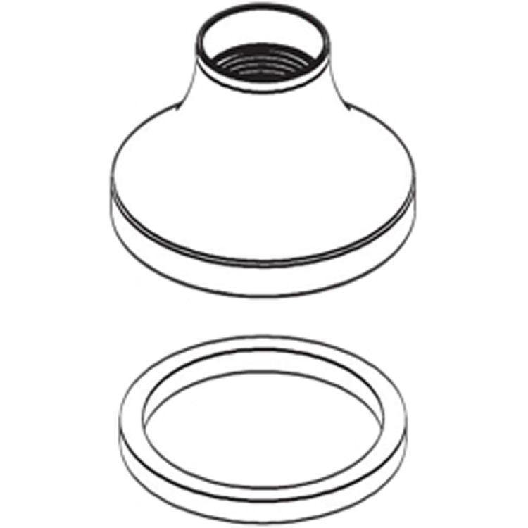 Moen 116673ORB Moen 116673ORB Waterhill Escutcheon - Oil Rubbed Bronze