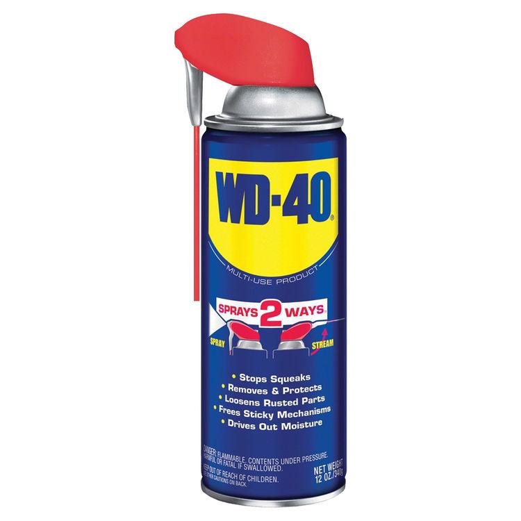 WD-40 490057 WD-40 490057 Smart Straw Lubricant, 12 oz, Aerosol Can, Light Amber, Liquid