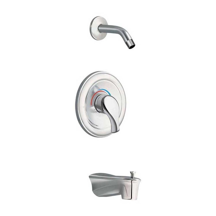 Moen TL172NH MOEN TL172NH MOENTROL TUB/SHOWER TRIM CHROME - LESS HEAD