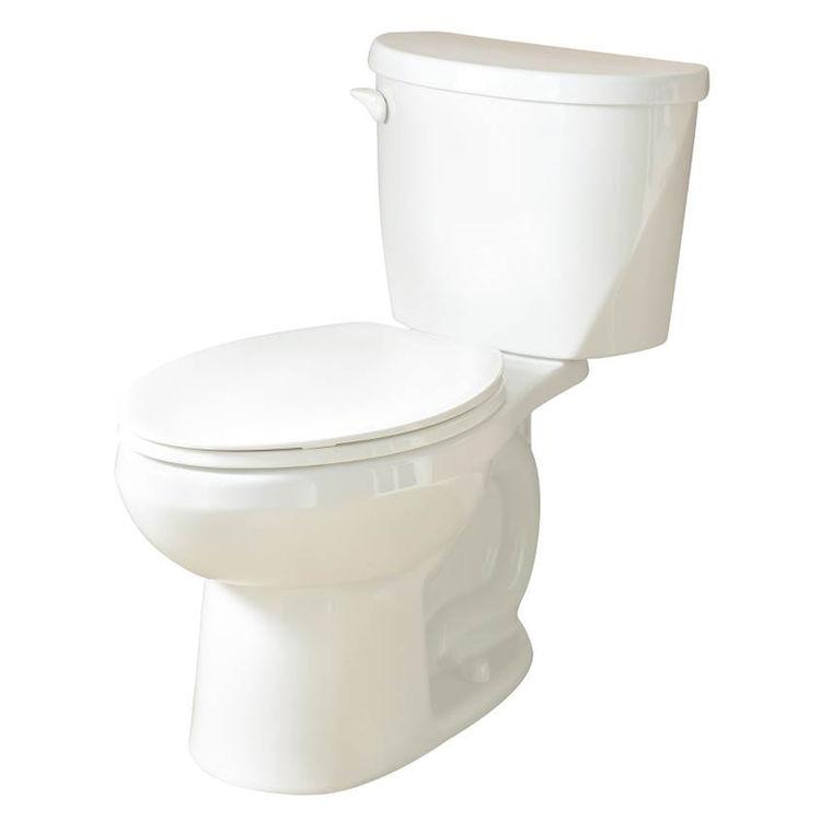American Standard 3470.128.020 American Standard 3470.128.020 Horizon 2 Flush Toilet, 1.28 gpf, Elongated Front, White