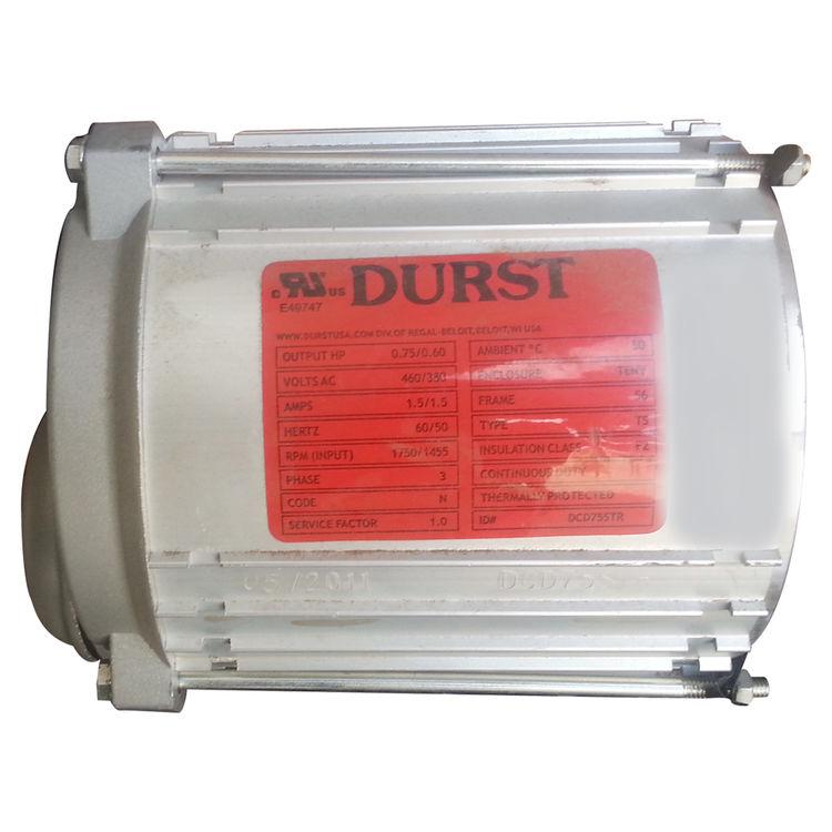 DURST DCD-754043 HELICAL GEAR MOTOR 43RPM 3/4HP 40:1