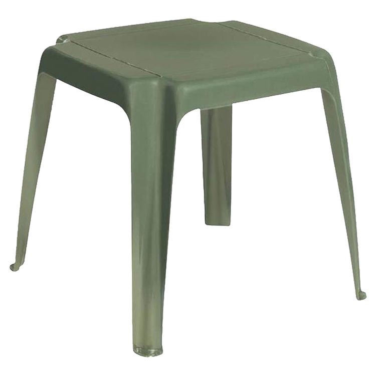 Adams 8115-23-3700 Adams 8115-23-3700 Stacking Side Table, 16 in W X 16 in D X 15-3/4 in H, Square, Desert Clay