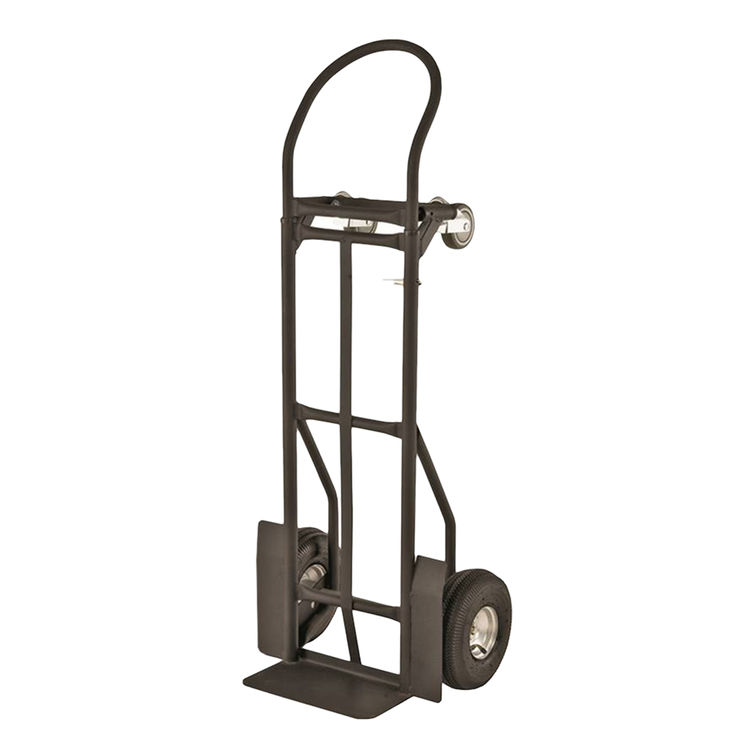 mintcraft yy 600 2 convertible heavy duty hand truck 800 lb 10 x 3 12 in pneumatic tires wheel adjustable handle - Heavy Duty Hand Truck