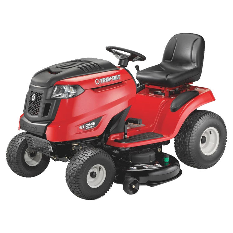 MTD 13AAA1KT066 Troy-Bilt 13AAA1KT066 Hydrostatic Riding Lawn Mower, 46 in W, 17.5 hp, 656 cc