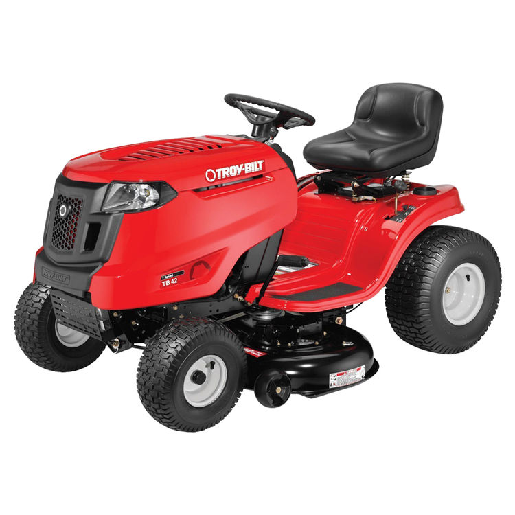 MTD 13A877BS06 Troy-Bilt 13A877BS06 7-Speed Lawn Tractor, 42 in W, 420 cc OVH Engine