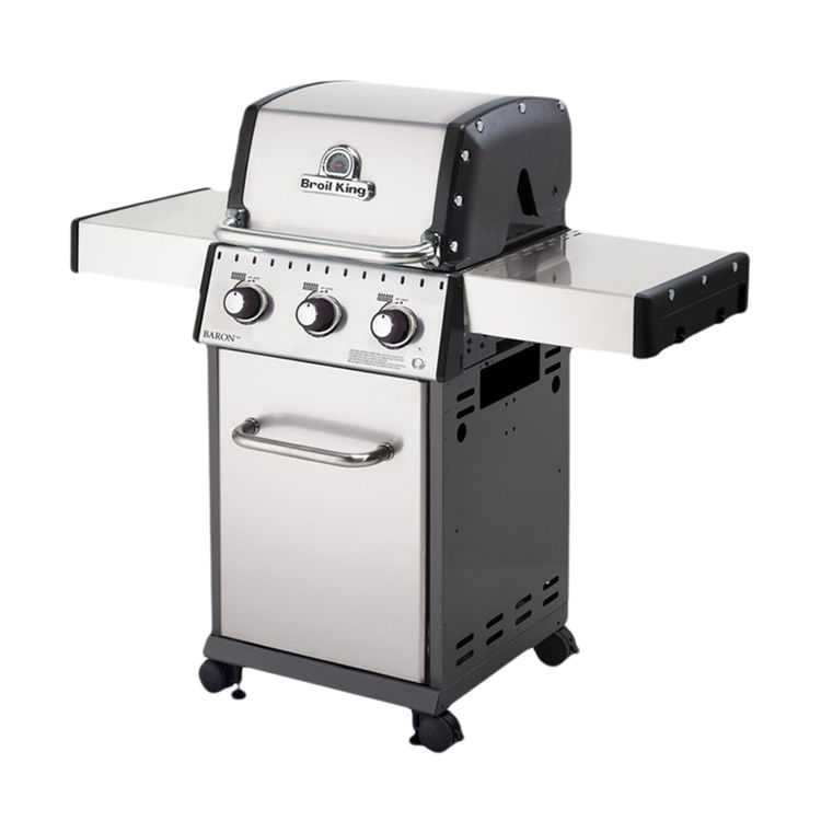 Broil King 921554 Broil King 921554 Gas Grill, 30000 BTU, Liquid Propane, 440 sq-in, Stainless Steel