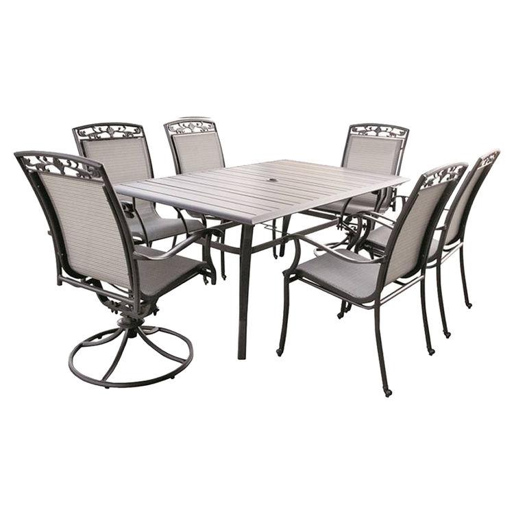 Westfield QA6440-A107 Hester QA6440-A107 Utility Table, Aluminum