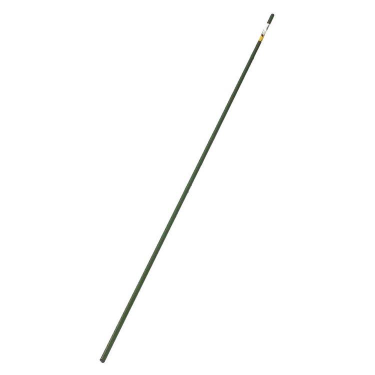 Woodstream ST8-8 Gardener'S Blue Ribbon Outdoor Seasons ST8-8 Sturdy Stake 8 ft L x 5/8 in W, Steel, Plastic Coated