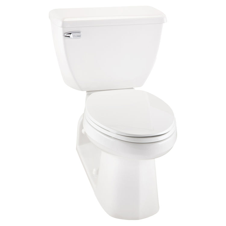 Gerber 16 Gpf Toilet Seat.Gerber 21 310 Ultra Flush 1 6 Gpf 4 1 4 Vertical Rough In Two Piece