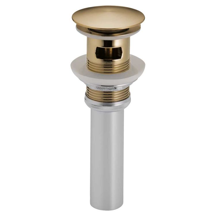 View 2 of Brizo RP72414GL Brizo RP72414GL Luxe Gold Push Button Pop-Up with Overflow