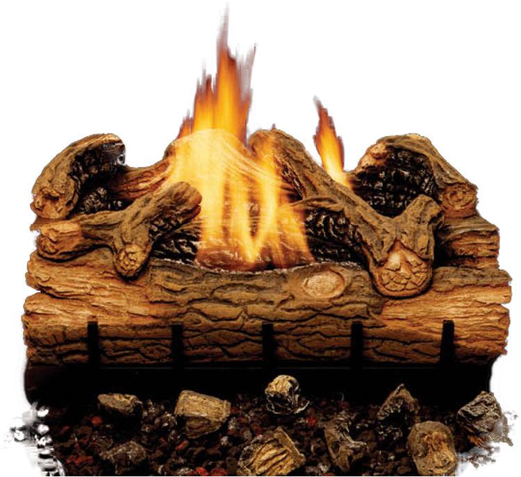 Majestic EYF24-F Charred Hickory Vent-Free Gas Log Set | PlumbersStock