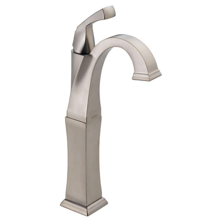 Delta 751-SS-DST Delta 751-SS-DST Dryden Single Handle Bathroom Faucet in Stainless