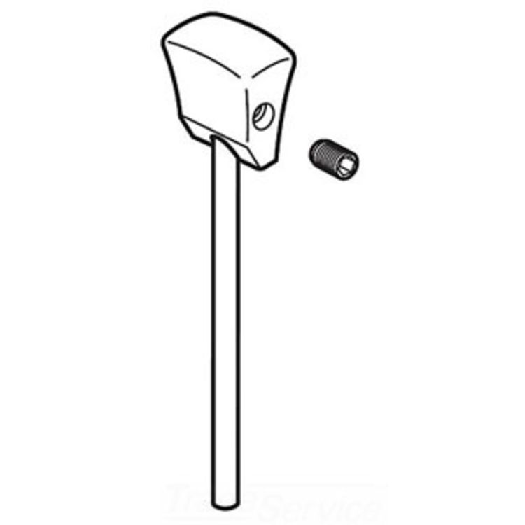 Delta RP53411SS Delta RP53411SS Delta Lift Rod, Knob and Set Screw - Lavatory (Stainless)