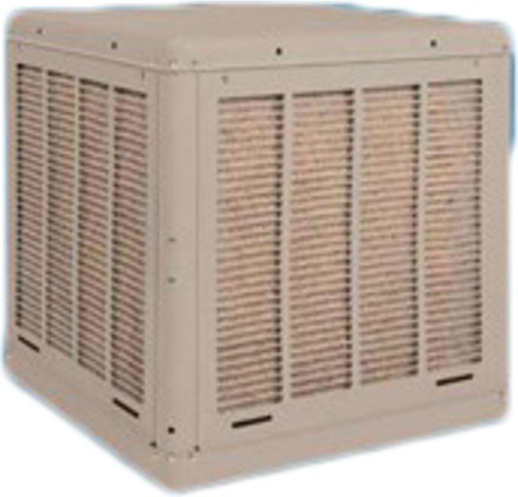 Evaporative Cooler Cabinet 3000 CFM Down Cabinet Only