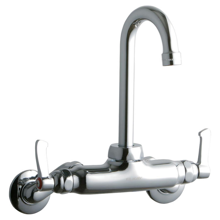 View 2 of Elkay LK945GN04L2T Elkay LK945GN04L2T  Commercial Wall-Mounted Faucet