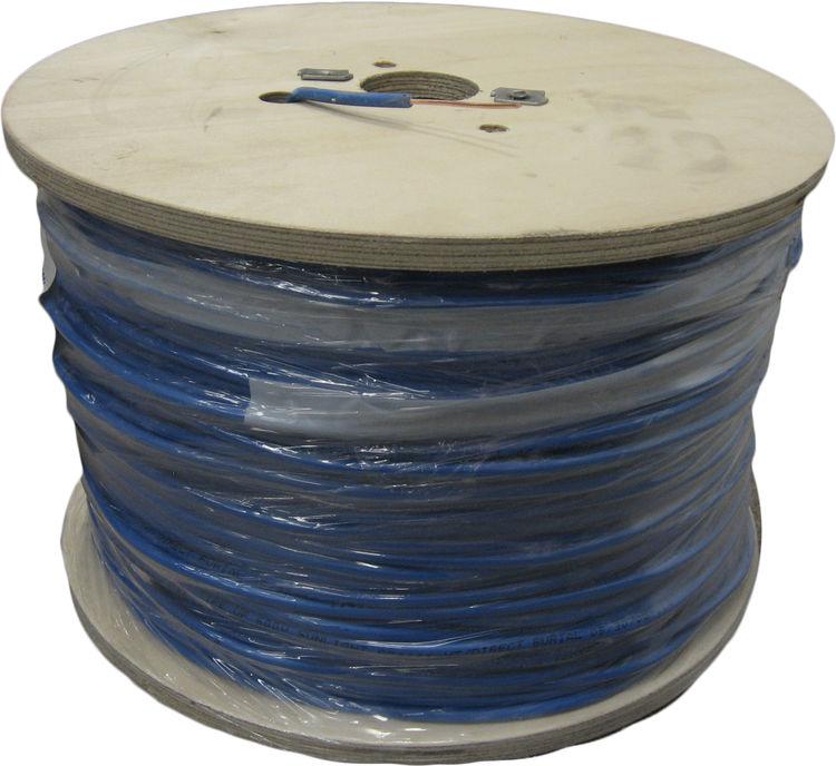 Regency Wire  14 Gauge Single Strand Tracer Wire Blue 1000' Roll
