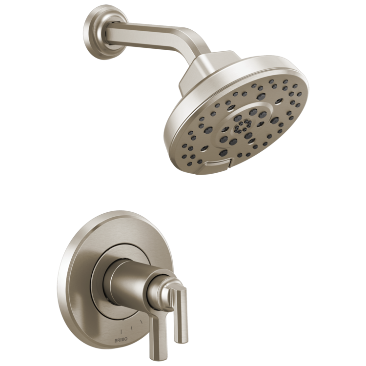 Brizo T60298-NK Brizo T60298-NK Levoir TempAssure Thermostatic Shower Only Trim - Luxe Nickel
