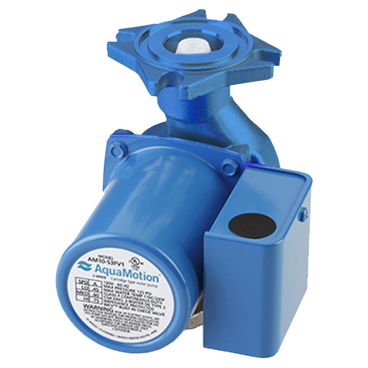 Aquamotion AM8-F1 AquaMotion AM8-F1 Circulator Pump Less Check Valve, Cast Iron