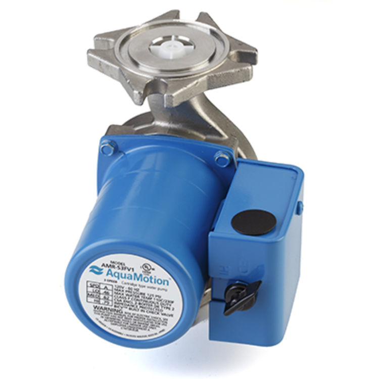 Aquamotion AMR-S3F1 AquaMotion AMR-S3F1 Circulator Pump with Three Speed, Stainless Steel
